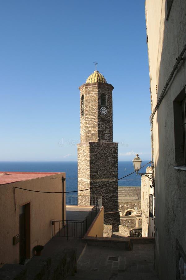 Castelsardo - Sardinien, Italien lizenzfreie stockbilder