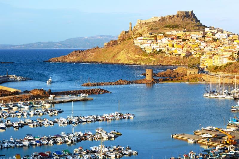 Castelsardo, Sardinige stock foto's