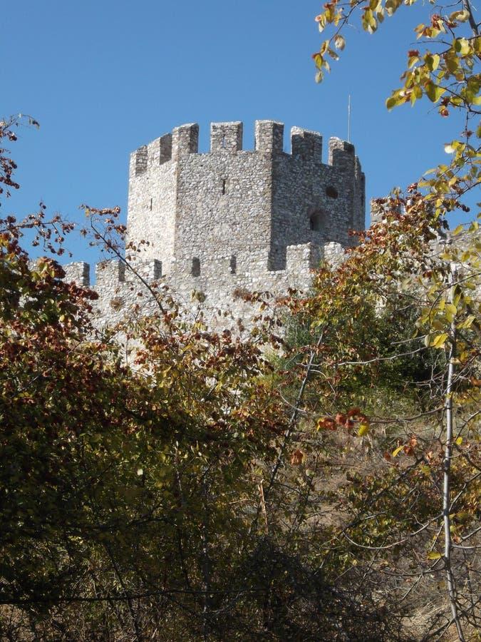 Casteltoren in Griekenland royalty-vrije stock foto's