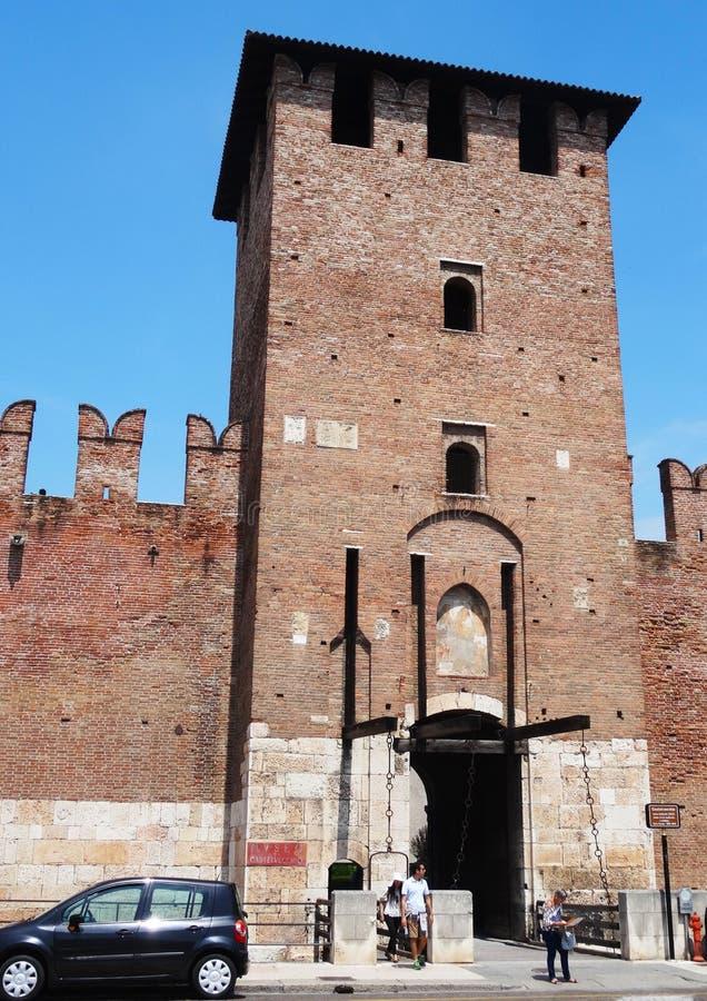 castelvecchio Βερόνα στοκ εικόνες
