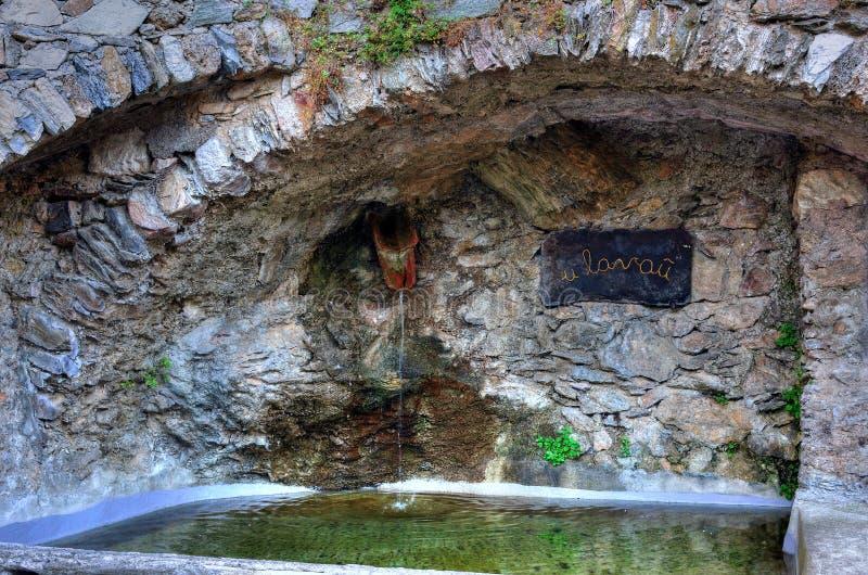 castelvecchio di rocca barbena (savona)italy stock image