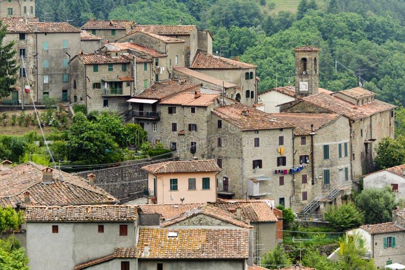 castelvecchio pesciatina svizzera Tuscany obraz stock