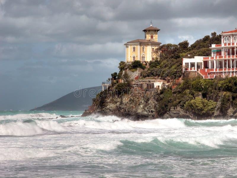 Castiglioncello, toskanische Küste, Italien stockfotos