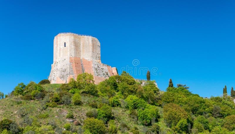 Castiglione dans la région d'Orcia, Toscane photo stock