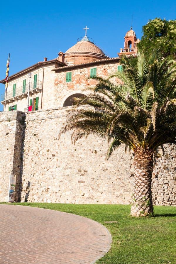 Download Castiglione del Lago stock photo. Image of masonry, walled - 26807170