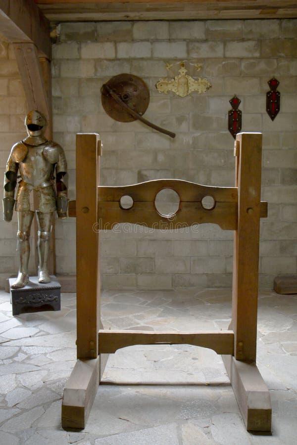 Castigo y tortura medievales fotos de archivo