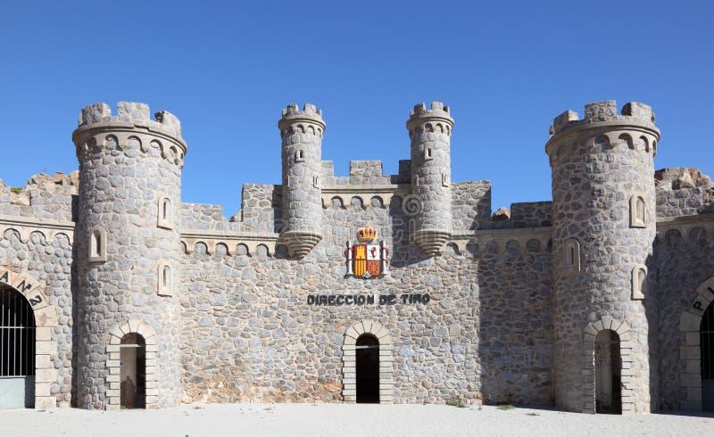 Castillitos, Murcia Spanje stock fotografie