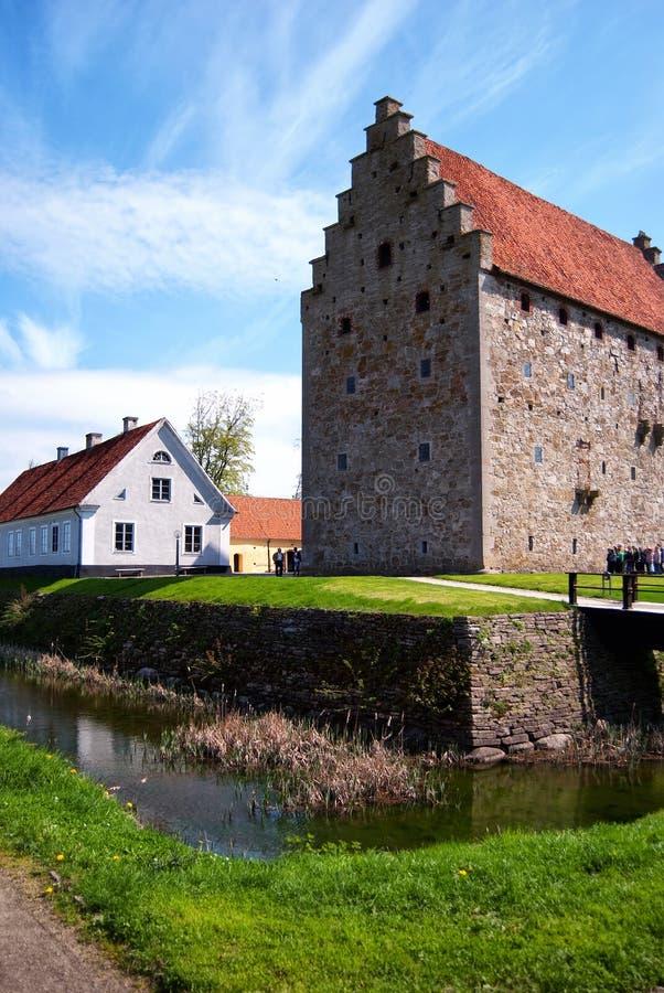 Castillo 01 de Glimmingehus foto de archivo libre de regalías