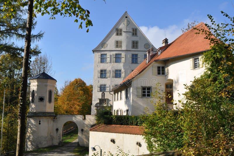 Castillo Achberg, Alemania fotos de archivo