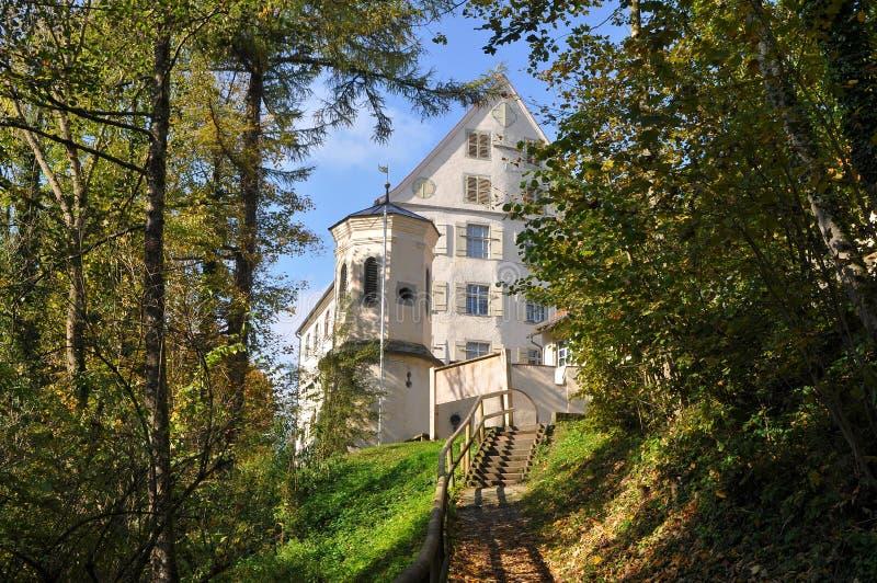 Castillo Achberg, Alemania fotografía de archivo libre de regalías