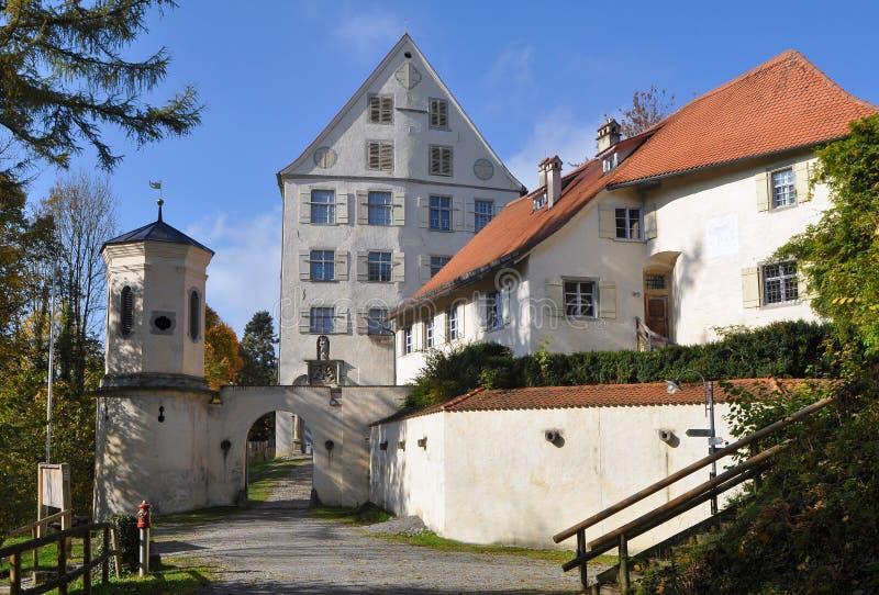 Castillo Achberg, Alemania foto de archivo
