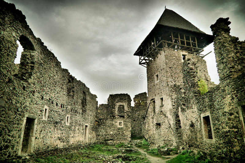 Castillo antiguo fotos de archivo