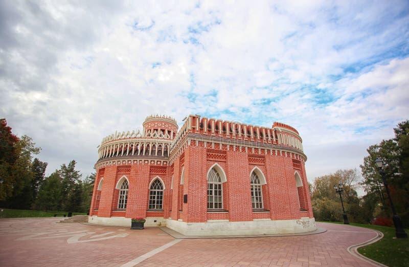 Castillo antiguo del ladrillo fotografía de archivo libre de regalías