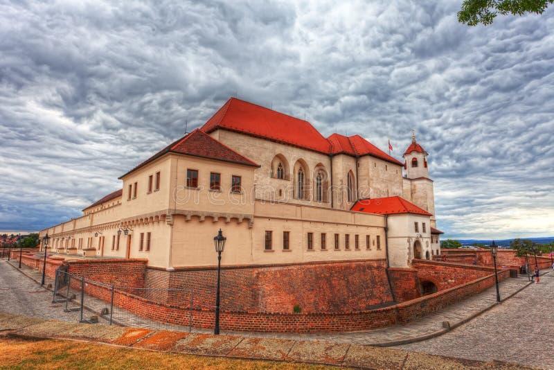 Castillo antiguo Spilberk imagen de archivo libre de regalías
