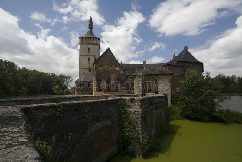 Castillo Bélgica foto de archivo libre de regalías