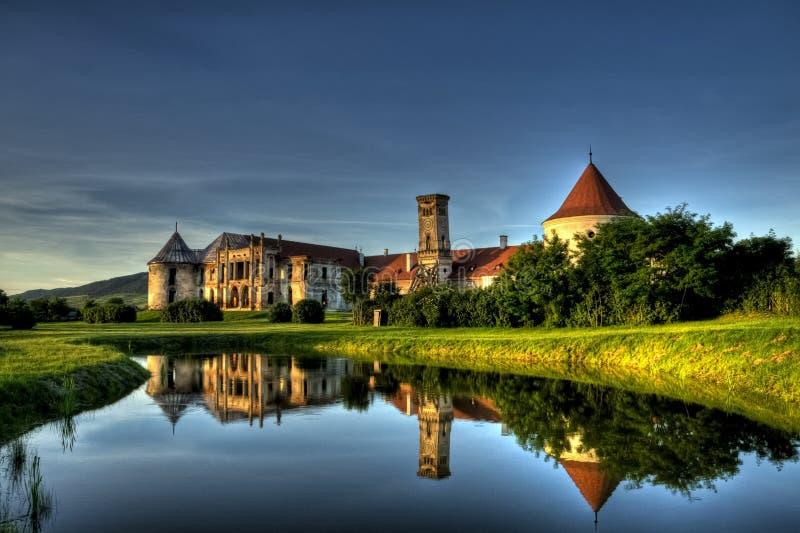 Castillo barroco fotografía de archivo