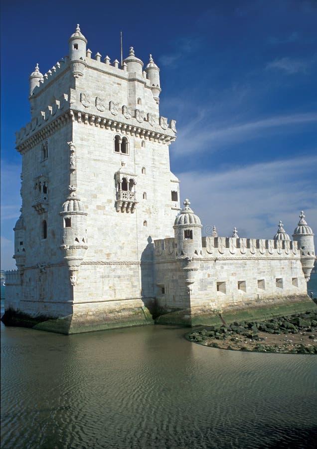 Castillo blanco fotos de archivo