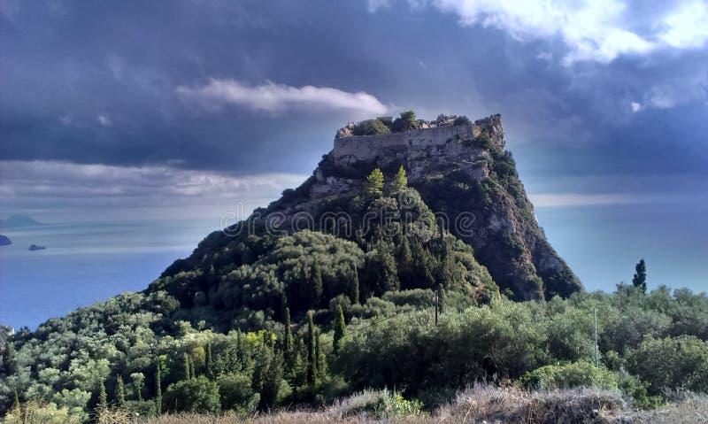Castillo C|orfu imágenes de archivo libres de regalías