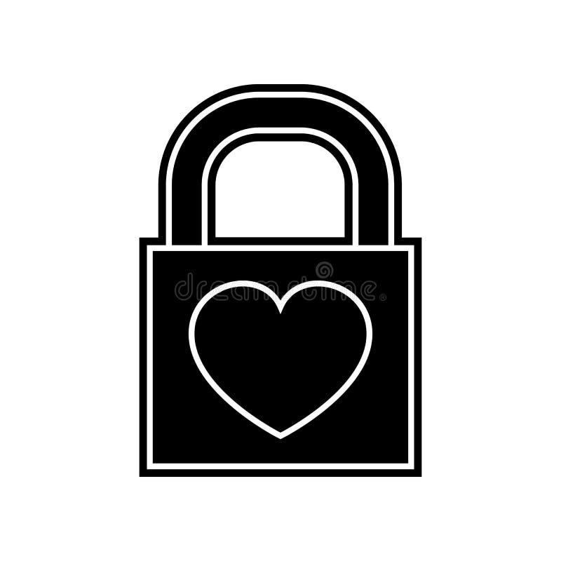 castillo con un icono del coraz?n Elemento de la tarjeta del d?a de San Valent?n para el concepto y el icono m?viles de los apps  libre illustration