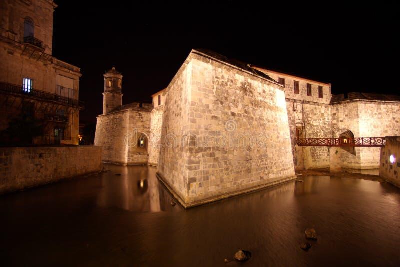 castillo Cuba De Fuerza la habana real zdjęcia stock