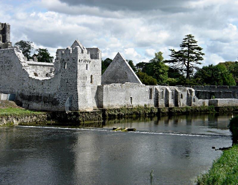 Castillo de Adare foto de archivo