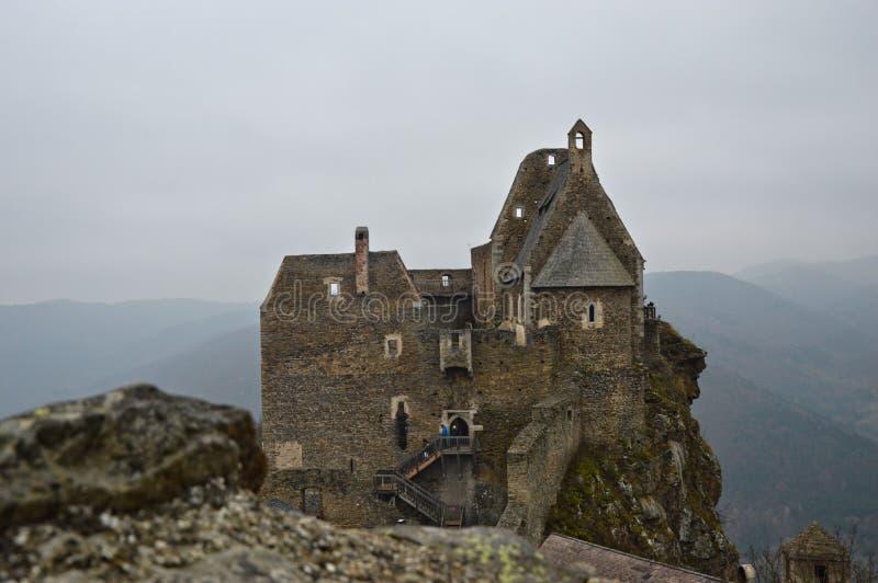 Castillo de Aggstein fotos de archivo libres de regalías