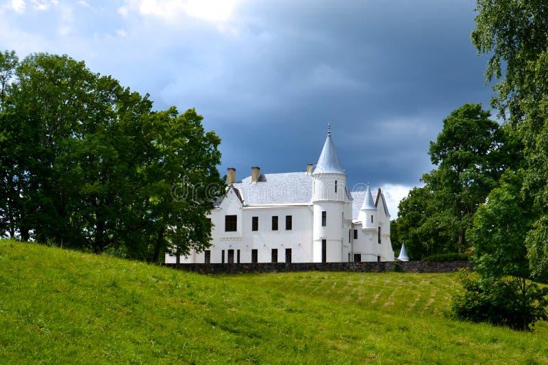 Castillo de Alatskivi foto de archivo libre de regalías