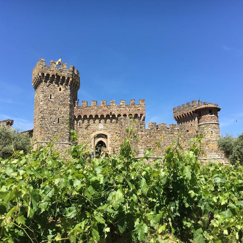 Castillo De Amoroso foto de stock