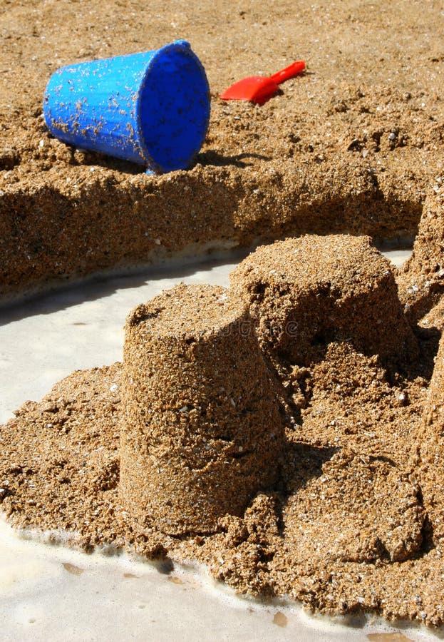 Castillo de arena fotografía de archivo libre de regalías