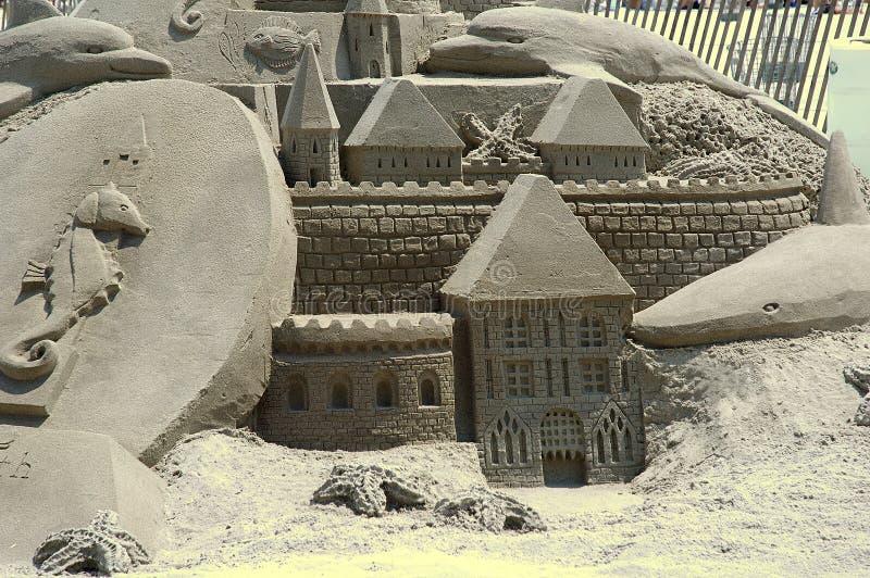 Castillo De Arena 2 Imagen de archivo libre de regalías