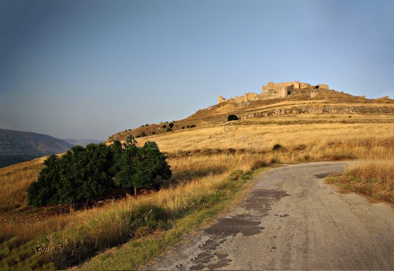 Castillo de Argos fotos de archivo libres de regalías
