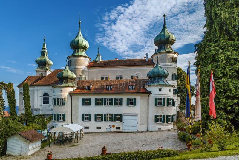 Castillo de Artstetten, Austria imágenes de archivo libres de regalías