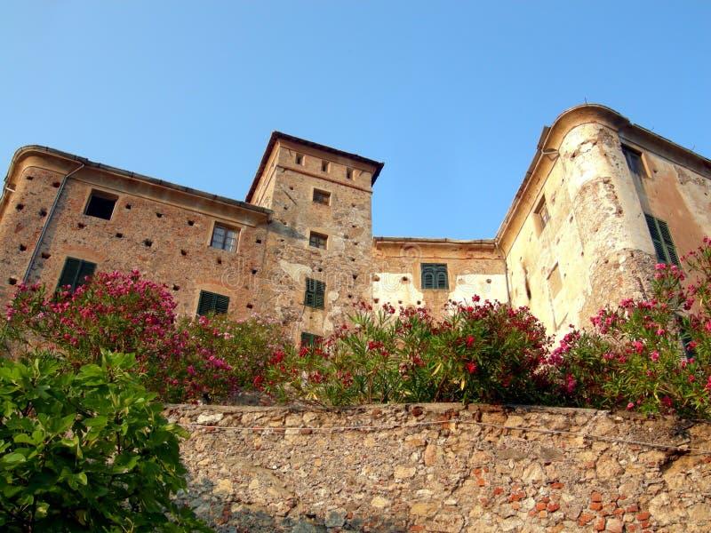 Castillo de Balestrino fotografía de archivo