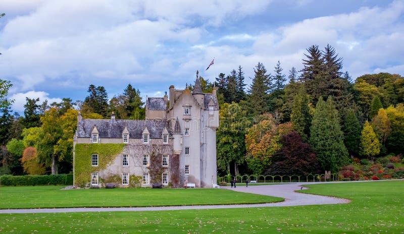 Castillo de Ballindalloch imágenes de archivo libres de regalías