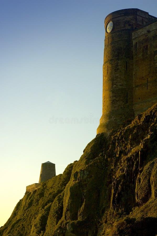 Castillo de Bamburgh fotografía de archivo