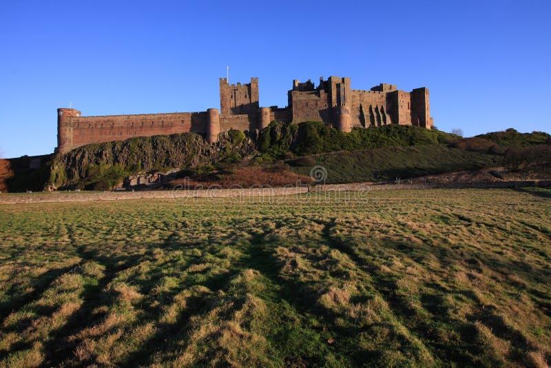 Castillo de Bamburgh fotos de archivo libres de regalías