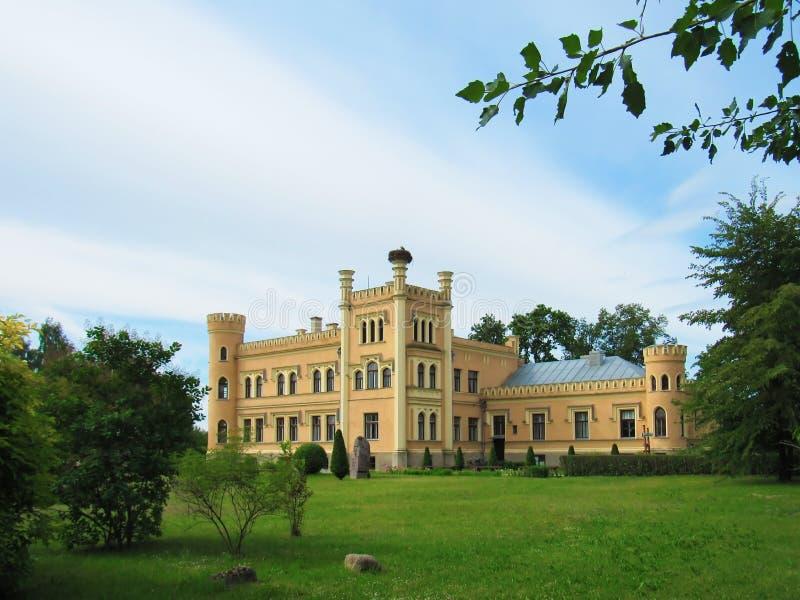 Castillo de barón del siglo XIX fotografía de archivo libre de regalías