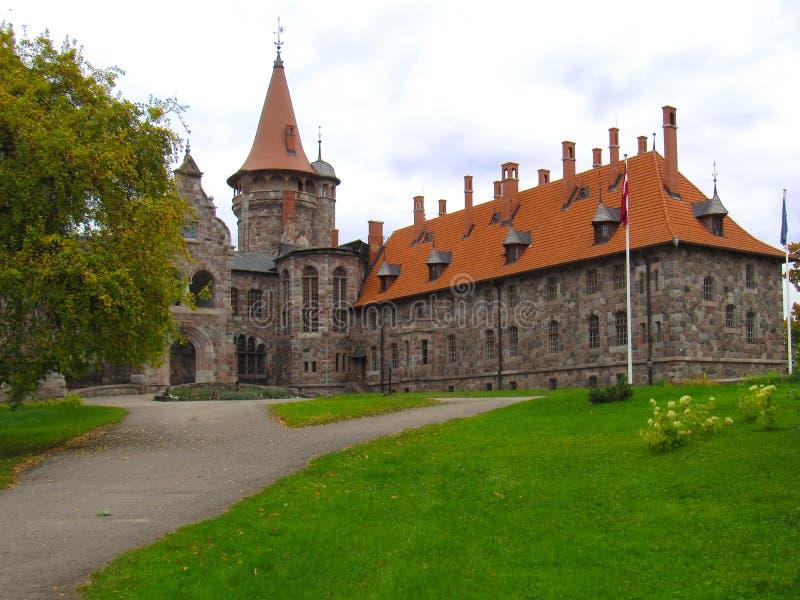 Castillo de barón del siglo XIX imagenes de archivo