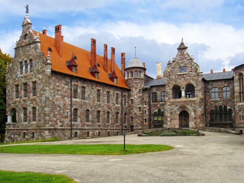 Castillo de barón del siglo XIX fotos de archivo libres de regalías