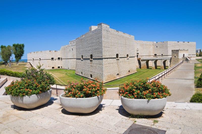 Castillo de Barletta. Puglia. Italia. imagenes de archivo