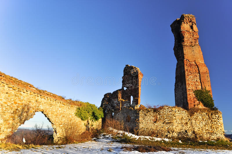 Castillo de Battifollo imagenes de archivo