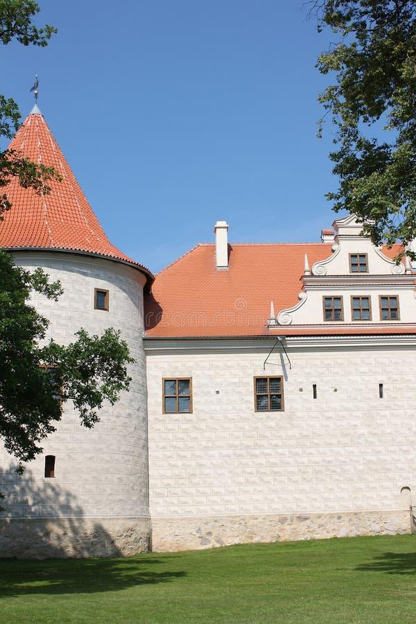 Castillo de Bauska en Letonia fotos de archivo libres de regalías