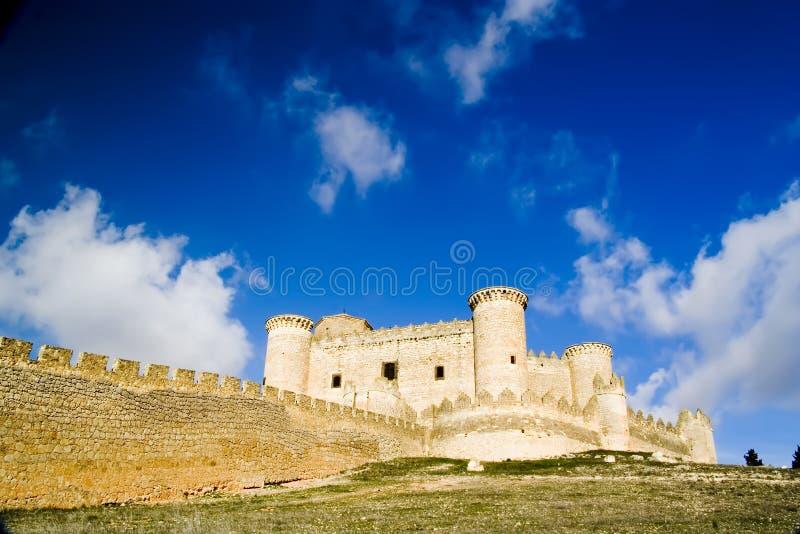 Castillo DE Belmonte 3 stock afbeelding