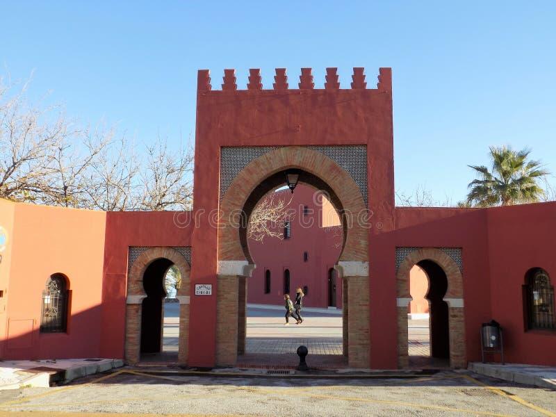 Castillo de Bil-Bil-Benalmadena-Málaga-Andalucía foto de archivo