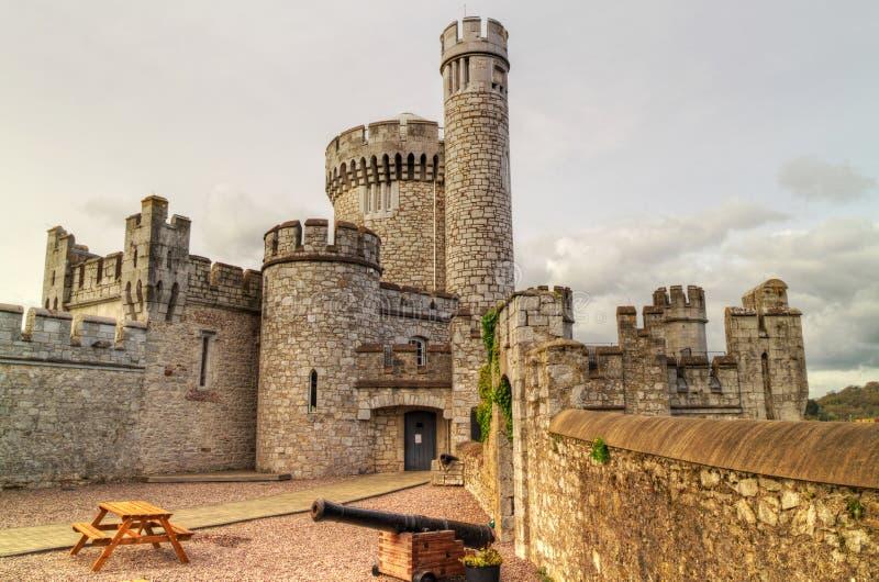 Castillo de Blackrock y observarory imagen de archivo
