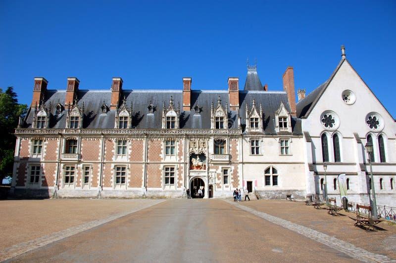 Castillo de Blois. Entrada principal imagen de archivo libre de regalías