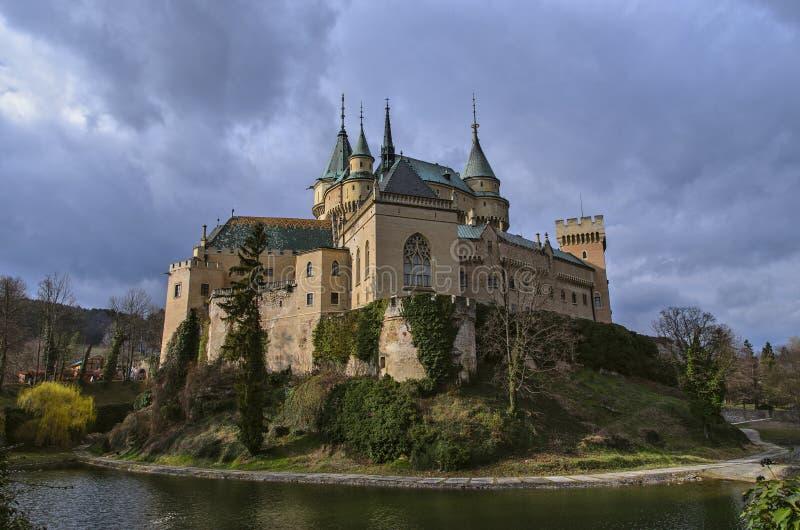 Castillo de Bojnice fotos de archivo libres de regalías