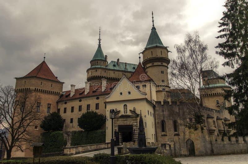 Castillo de Bojnice foto de archivo libre de regalías