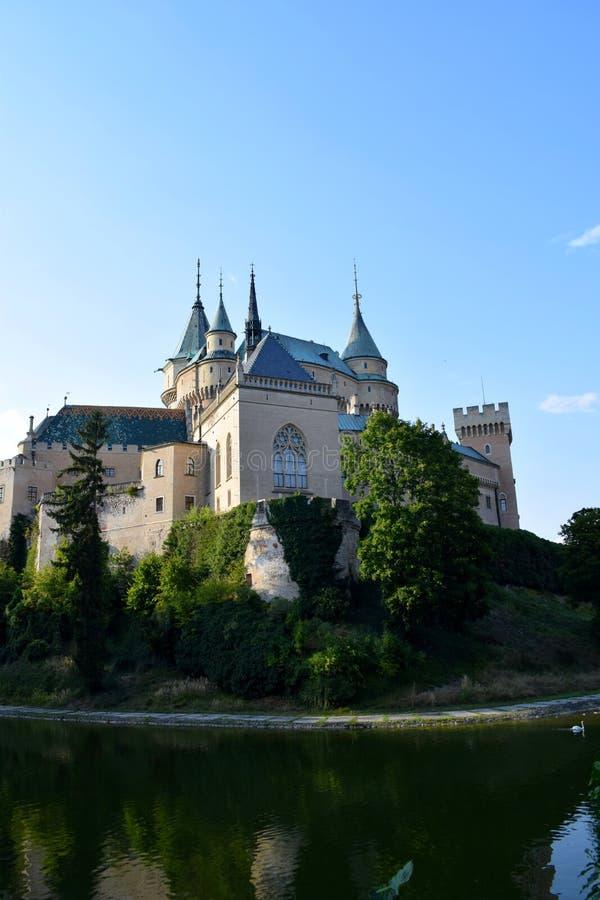 Castillo de Bojnice, República Checa imagenes de archivo