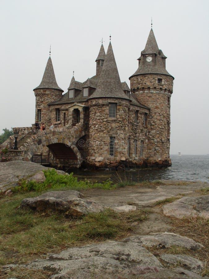 Castillo de Boldt imágenes de archivo libres de regalías